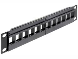 Keystone Patchpanel 10 12 Port