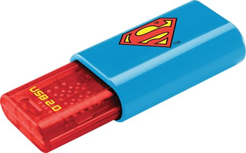 EMTEC memory 8GB C600 USB 2.0 Superman (ECMMD8GC600SM)