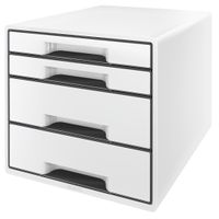 DRAWER UNIT 4 DRAWERS WHITE