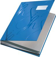 SIGNATURE BOOK DESIGN BLUE