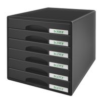 DRAWER UNIT PLUS 6 DRAWERS BLACK