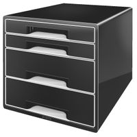 DRAWER UNIT 4 DRAWERS BLACK