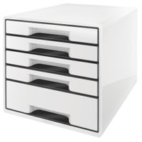 DRAWER UNIT 5 DRAWERS WHITE