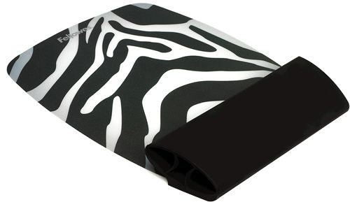mouse and wrist silicone pad, Zebra