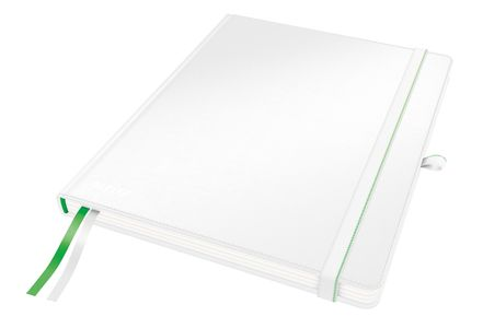 LEITZ COMPLEET NOTEBOOK LEITZ HARDBACK IPAD RULED WHITE (44740001)