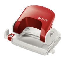 Leitz Office Punch. 5038 Red