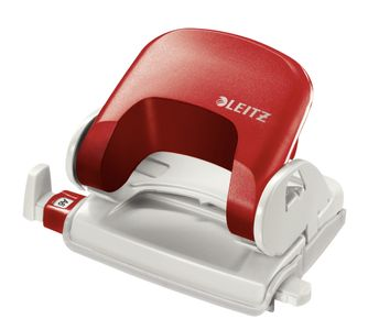 LEITZ Office Punch. 5038 Red (50380025)