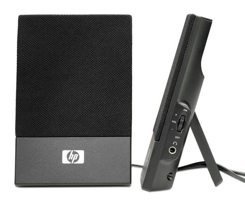HP Thin USB Powered Speakers Retail