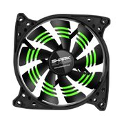 Sharkoon SHARK Blades Case Fan Green, 120mm