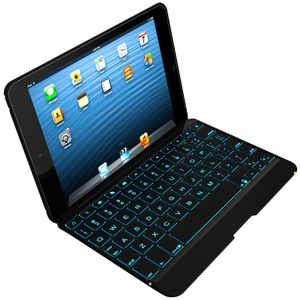 ZAGG / INVISIBLESHIELD ZAGG Keys Folio Ipad Mini& Mini Retina-Hinged Folio Mini-Black-Back-lit KB- UK (IM2ZKF-BBU)