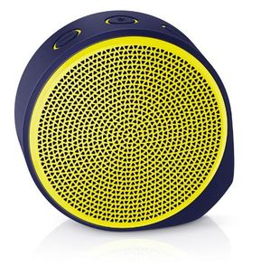LOGITECH X100 Mobile Speaker, yellow