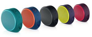 LOGITECH X100 MOBILE SPEAKER RED  IN (984-000366)