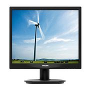 PHILIPS 17IN LCD 1280X1024 5:4 5MS 17S4LSB  VGA DVI EPEAT SILVER IN