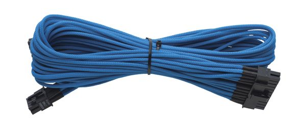Individually Sleeved Cable Blue 860/ 760 AX  Platinum Series, 1x 20+4 pin ATX MB (610mm)