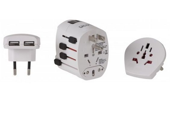 WORLD ADAPTER PRO+USB IN CHAR