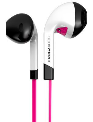 IFROGZ AUDIO INTONE WITH MIC PINK