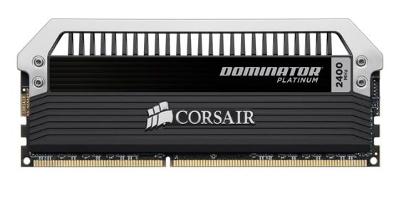 Dominator DDR3 2400MHz 8GB Kit w/2x4GB 1.65V, CL11-13-13-31,  Platinum