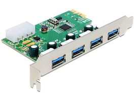 PCIe USB 3.0 PCIe Adapter 4x extern 89363