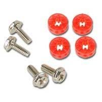 HDD Rubber Screws PRO - red