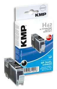 KMP H62 ink cartridge black comp. w. HP CN 684 EE No. 364 XL (1712,0001)