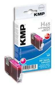 KMP H65 ink cartridge magenta comp. w. HP CB 324 EE No. 364 XL (1714,0006)