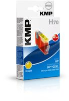 KMP H70 ink cartridge yellow comp. w. HP CD 974 AE No. 920 XL (1718,0059)