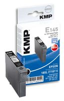 KMP E145 ink cartridge black compatible with Epson T1811 (1622,0001)