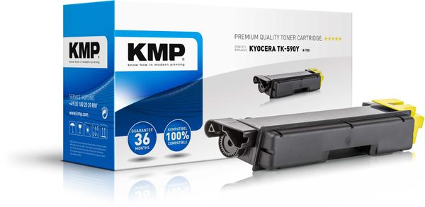 K-T55 Toner yellow compatible with Kyocera TK-590 Y