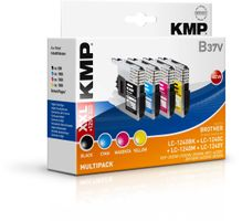 KMP B37V Multipack BK/C/M/Y compatible with Brother LC-1240 (1524,0050)