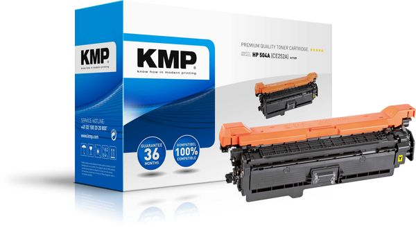 H-T129 Toner yellow compatible with HP CE 252 A