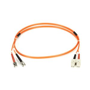 BLACK BOX FIBER PATCH CABLE 3M MM 50 ST TO SC Factory Sealed (FO50-003M-STSC)