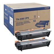 TN-3380 TWIN TONER BLACK (2 STUECK) SUPL