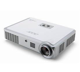 ACER K335 DLP LED Projector 1000 ANSI Lumen WXGA 1280x800 10000:1 HDMI/MHL D-Sub USB A optional WLAN via Dongle USB B mini SD Audio (MR.JG711.002)