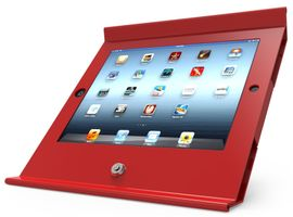 Slide Basic iPad POS Stand Red