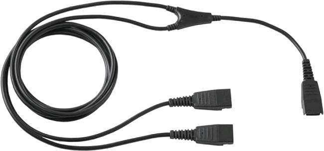 GN SUPERVISOR Y-ADAPTER (QD TO 2XQD 1,3M)