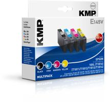 KMP E145V Promo Pack BK/C/M/Y compatible with Epson T1816 (1622,0050)