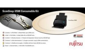 FUJITSU CONSUMABLE KIT F/ SCANSNAPIX500 . ACCS (CON-3656-001A)