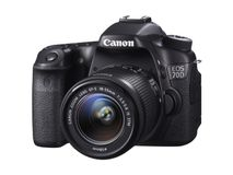 CANON EOS 70D + EF-S 18-55 IS STM 3IN LCD BLACK 1080P HD VIDEO IN