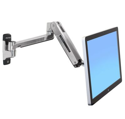 LX HD SIT-STAND WALL MOUNT LCD ARM POLISHED                 IN WALL