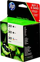 301 Ink Cartridge 3-Pack