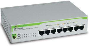 ALLIED TELESYN SWITCH 8X 10/ 100/ 1000 UNMANAGED (AT-GS900/8-50)