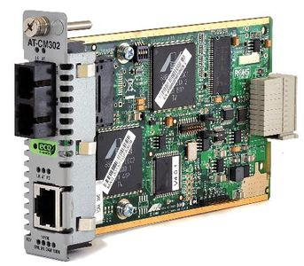 Allied Telesis ALLIED Media Blade 10/100TX to 100FX SC 2km Multimode with 802.3ah Support ECO FRIENDLY (AT-CM302)