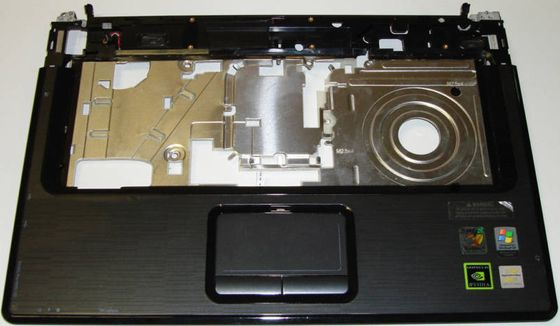 Top Cover w/Touch Pad Board