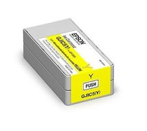 EPSON GJIC5(Y) - Skriverpatron - 1 x gul - for ColorWorks C831 (C13S020566)