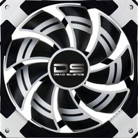 DS White LED Fan - 120mm