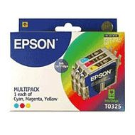 INK CARTRIDGE 3-PACK COLOR C/M/Y F/ STYLUS C70 C80 NS