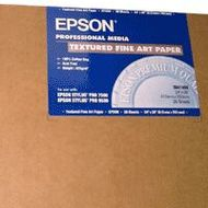 EPSON Textured Fine Art Paper 24 inch x 30 inc Sheet (C13S041450)
