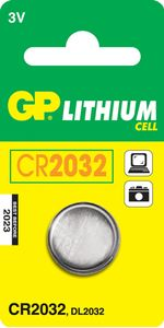 GP CR2032 3V 1-pack             * (2184)