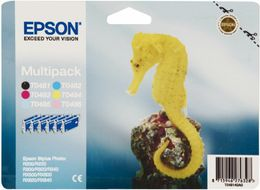 EPSON T048 6 pack blk, c, m, y, lc, lm (C13T048140A0)