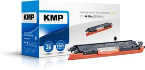 KMP Toner HP CE310A comp. black (1226,0000)